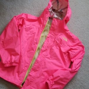 Girls North Face Rain Jacket M 10/12